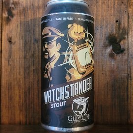 Ghostfish Watchstander Stout Gluten-Free, 6.5% ABV, 16oz Can