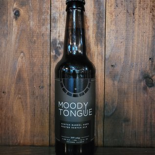 Moody Tongue Scotch Barrel Aged Peated Scotch Ale, 11.8% ABV, 12oz Bottle