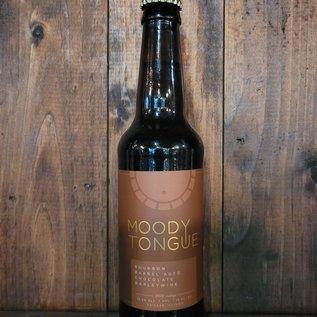 Moody Tongue Bourbon Barrel Aged Chocolate Barleywine, 13% ABV, 12oz Bottle