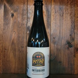 Interboro Sabotage BA Belgian Dubbel, 7% ABV, 500ml Bottle