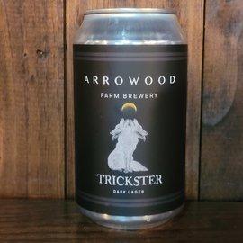 Arrowood Farm Trickster Dark Lager, 4.7% ABV, 12oz Can