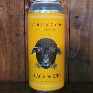 Arrowood Farm Black Sheep Brown Ale, 5% ABV, 16oz Can