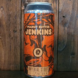 Thin Man Peanut Butter Jenkins Imperial Stout, 11.7% ABV, 16oz Can