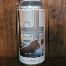 Evil Twin NYC Dry January? Definitely Not This Year DDH DIPA, 8% ABV, 16oz Can