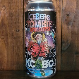 KCBC Iceberg Zombie Apocalypse Sour Ale, 6% ABV, 16oz Can