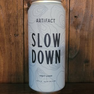 Artifact Slow Down Cider, 6% ABV, 16oz Can
