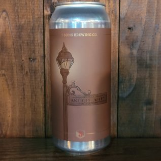 3 Sons Antique Alley Amber Ale, 5.4% ABV, 16oz Can