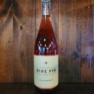 Nine Pin Raspberry Cider, 5.7% ABV, 25oz Bottle