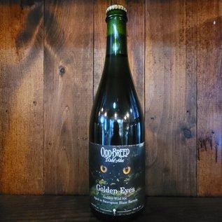 Odd Breed Golden Eyes (Sauvignon Blanc) Wild Ale, 5% ABV, 25oz Bottle