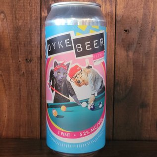 Wild East Dyke Beer Saison, 5.2% ABV, 16oz Can