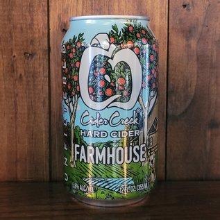 Cider Creek Farmhouse Cider, 5.8% ABV, 12oz Can
