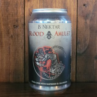 B. Nektar Blood Amulet Cider, 6.2% ABV, 12oz Can