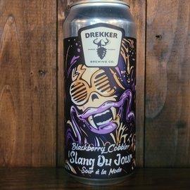 Drekker Slang Du Jour Blackberry Cobbler Sour Ale, 7.3% ABV, 16oz Can