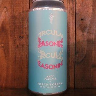 Torch & Crown Circular Reasoning Hazy Pale Ale, 5% ABV, 16oz Can