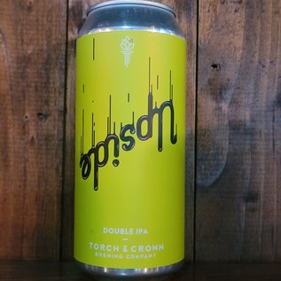 Torch & Crown Upside DDH DIPA, 9% ABV, 16oz Can
