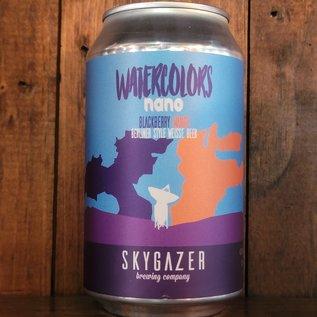 Skygazer Watercolors Nano Blackberry Mango Sour Ale, 4% ABV, 12oz Can