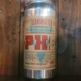 Transmitter PH9 Blueberry Sour Ale, 5.4% ABV, 16oz Can