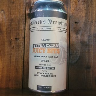WeldWerks Extra Extra Juicy Bits DDH DIPA, 8.6% ABV, 16oz Can