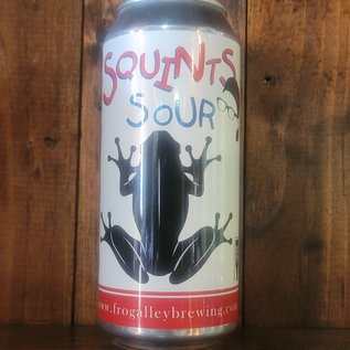 Frog Alley Squints Sour Ale, 3.6% ABV, 16oz Can