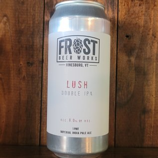 Frost Lush Double IPA, 8% ABV, 16oz Can