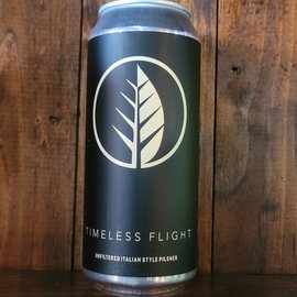 Deciduous Timeless Flight Italian Style Pilsner, 4.5% ABV, 16oz Can