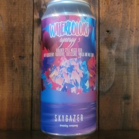 Skygazer Watercolors Synergy 3 Sour Ale, 5.5% ABV, 16oz Can