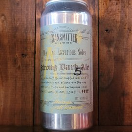Transmitter A5 Strong Dark Ale, 9.2% ABV, 16oz Can