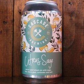 Cascade Citrus Sage BA Sour Ale, 5.3% ABV, 12oz Can