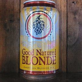 Good Natured Blonde, 4.5% ABV, 12oz Can