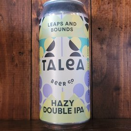 Talea Leaps And Bounds Hazy DIPA, 8% ABV, 16oz Can