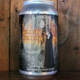 B. Nektar Death Unicorn Cider, 6% ABV, 12oz Can