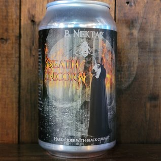 B. Nektar Death Unicorn Cider, 6% ABV, 12oz Can