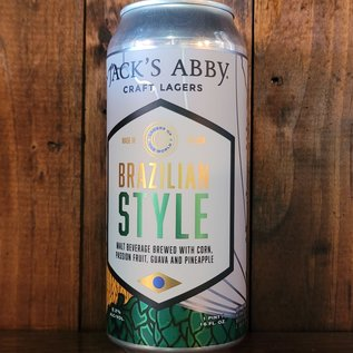 Jack's Abby Lagers Of The World: Brazilian Style, 5.2% ABV, 16oz Can