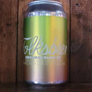 Folksbier Bergamot Glow Up Sour Ale, 4.5% ABV, 12oz Can