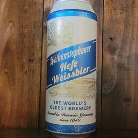 Weihenstephaner Hefe Weissbier, 5.4% ABV, 500ml Can