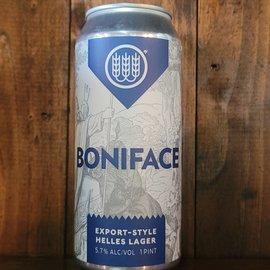 Schilling Boniface Helles Lager, 5.7% ABV, 16oz Can