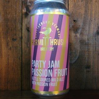 Hermit Thrush Party Jam Passion Fruit Sour Ale, 5.9% ABV, 16oz Can