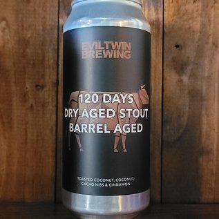 Evil Twin 120 Days Dry Aged Stout Barrel Aged (Coconut), 17.5% ABV, 16oz Can