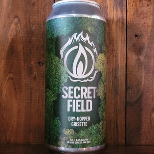 Blaze Secret Field Dry-Hopped Grisette, 4.6% ABV, 16oz Can