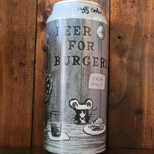 Off Color Beer for Burgers, 7% ABV, 16oz Can