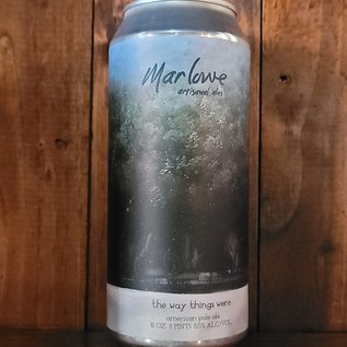 Marlowe The Way Things Were Pale Ale, 5.5% ABV, 16oz Can