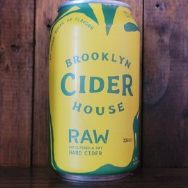 Brooklyn Cider House Brooklyn Cider House Raw Cider, 6.9% ABV, 12oz Can
