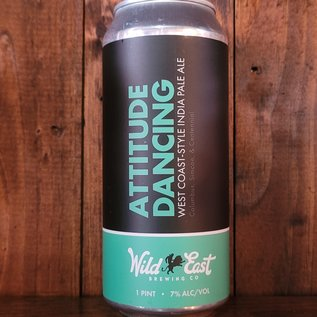 Wild East Attitude Dancing West Coast-style IPA, 7% ABV, 16oz Can