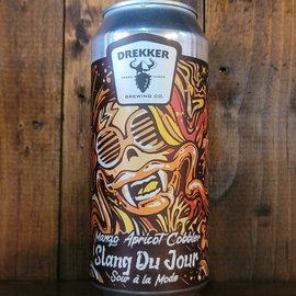 Drekker Slang Du Jour - Mango Apricot Cobbler Sour Ale, 8.1% ABV, 16oz Can