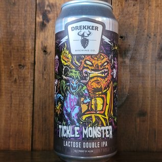 Drekker Tickle Monster Milkshake DIPA, 8.2% ABV, 16oz Can