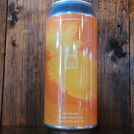 Commonwealth The Wealth Blonde Saison, 5.3% ABV, 16oz Can