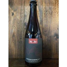 Wild East Contour Interval No. 2 Foeder-Aged Wheat Saison, 6.1% ABV, 500ml Bottle
