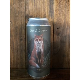 Marlowe/Fat Orange Cat What Do I Know? Lager, 5.3% ABV, 16oz Can