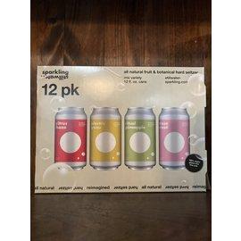 Stillwater Sparkling Hard Seltzer, 5% ABV, 12 Pack/12oz Cans