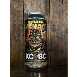 KCBC Molten Menace DDH DIPA, 8.8% ABV, 16oz Can